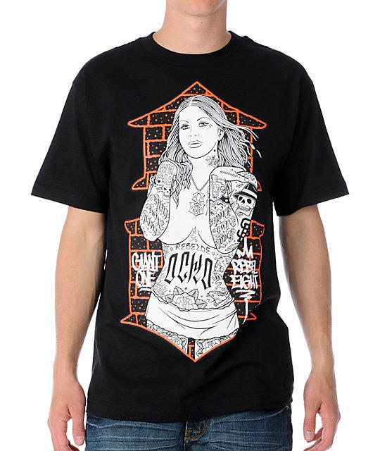 REBEL8 Brick House Black T-Shirt