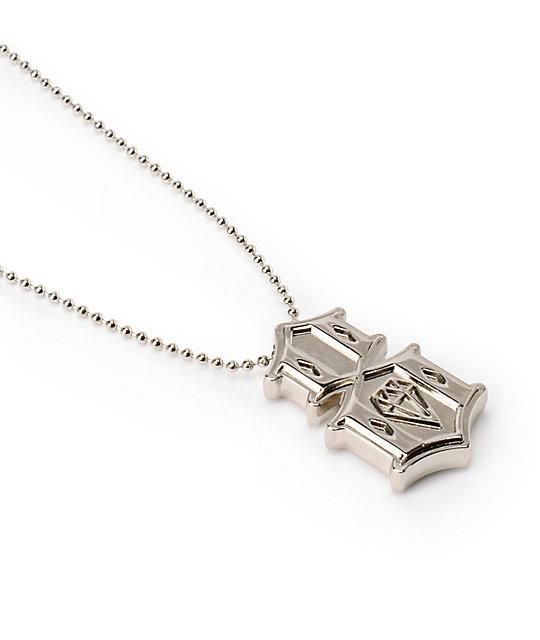 REBEL8 Metal 8 Silver Necklace