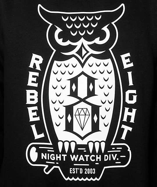 REBEL8 Night Watch Crew Neck Sweatshirt