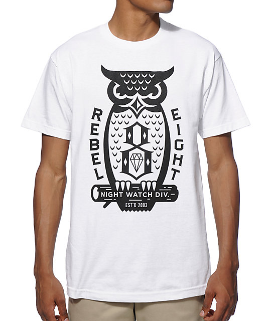 REBEL8 Night Watch T-Shirt