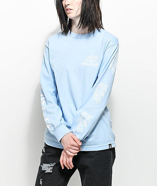 REBEL8 Rosemoor Blue Long Sleeve T-Shirt