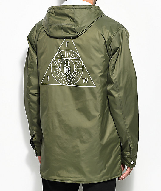 REBEL8 Sect Army Hooded Parka Jacket | Zumiez