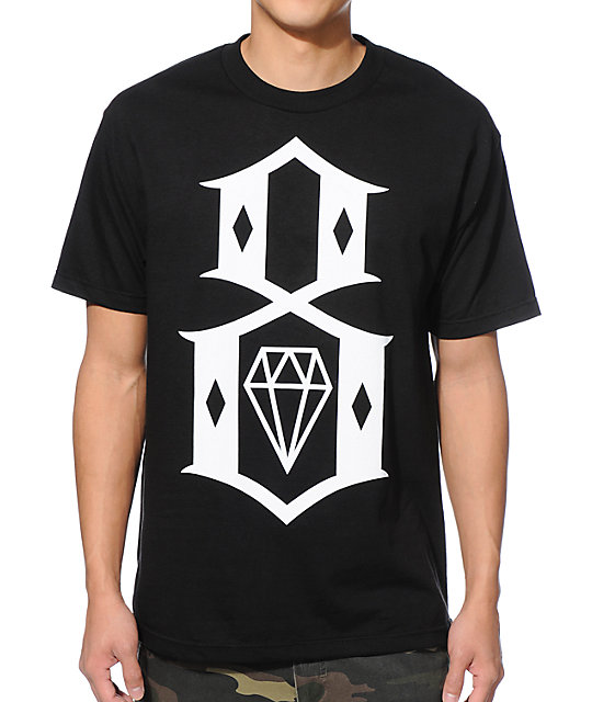 REBEL8 Standard Issue Logo Black T-Shirt