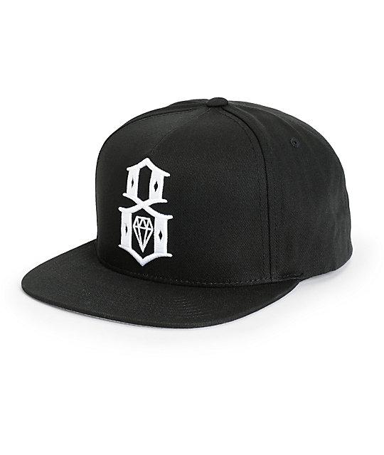 REBEL8 Standard Issue Logo Snapback Hat