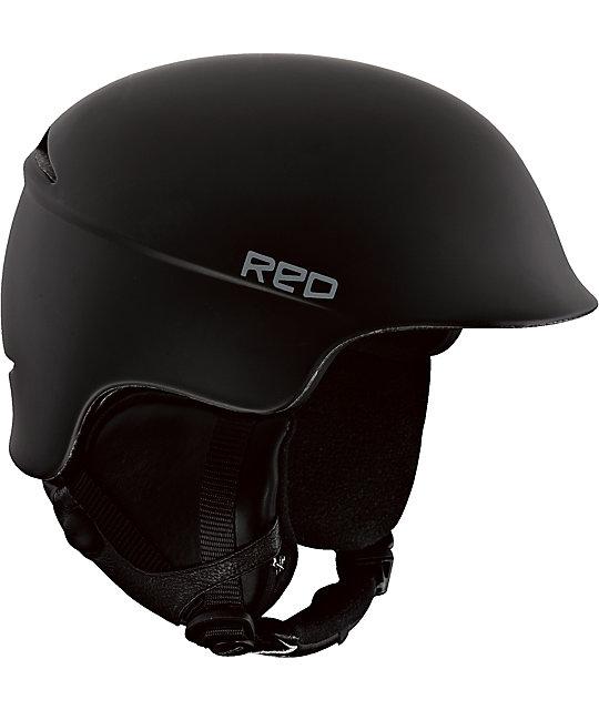 RED Theory Black Snowboard Helmet
