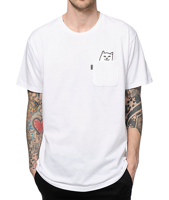 Ripndip Lord Nermal Pocket T Shirt Zumiez