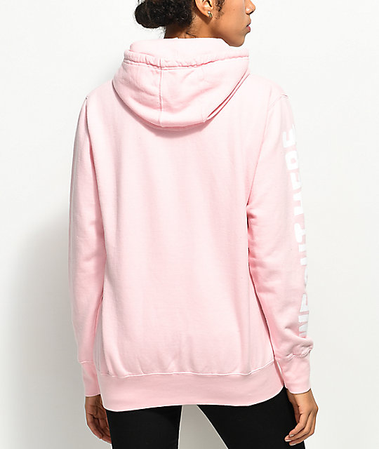 RIPNDIP We Out Here Pink Hoodie