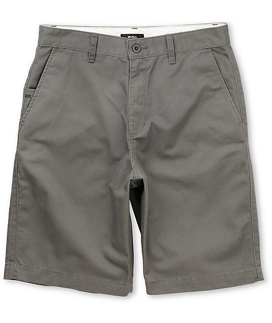 RVCA Americana Grey Chino Short