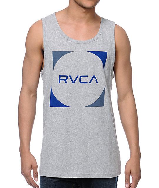 RVCA Baller Heather Grey Tank Top