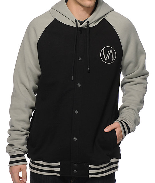 RVCA Brawler Hooded Varsity Jacket