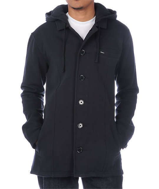 RVCA Brother II Thompson Black Jacket