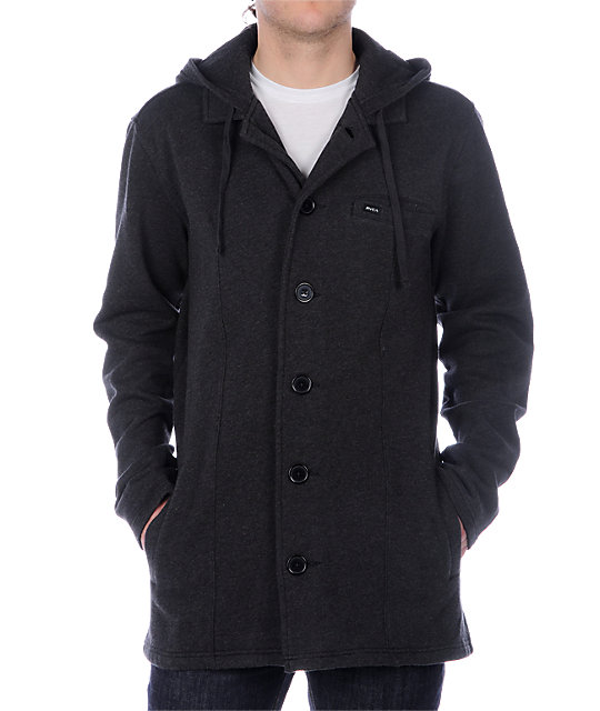 RVCA Brother II Thompson Grey Jacket