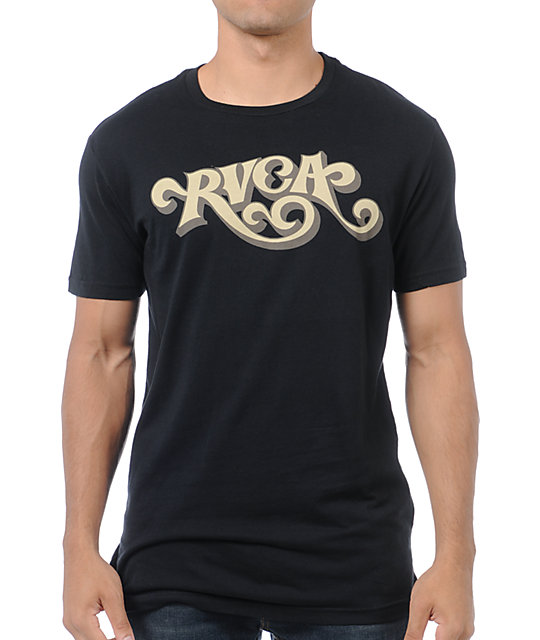 RVCA Coaster Black T-Shirt