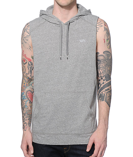 RVCA Compound Sleeveless Hoodie