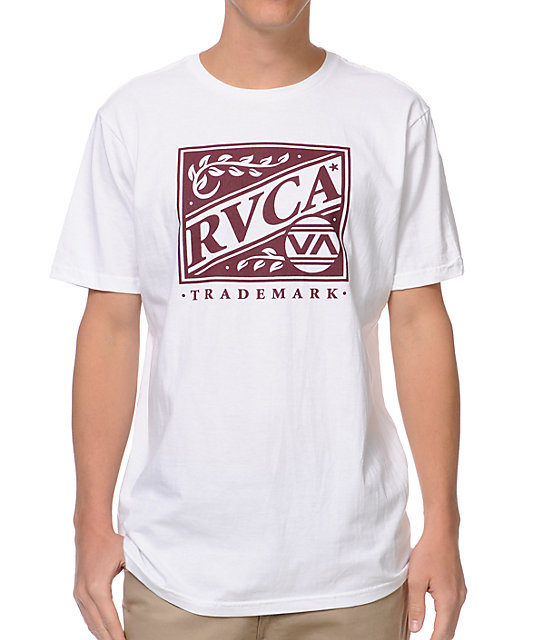 RVCA Crate White T-Shirt