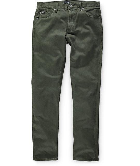 RVCA Daggers Pigment Slim Fit Jeans