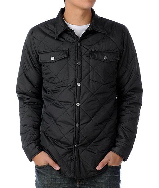 RVCA Dash Black Jacket