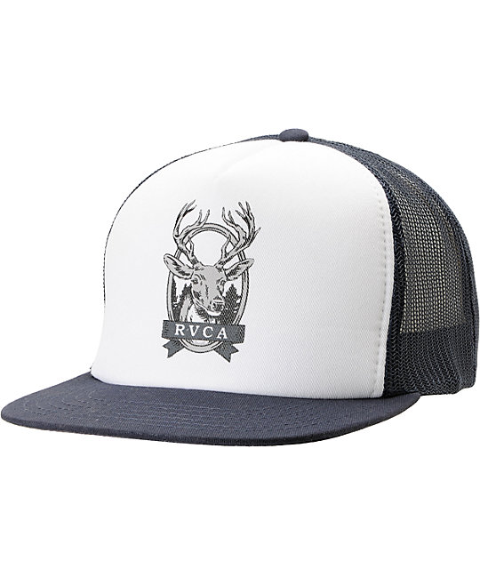 RVCA Deer Head Trucker Snapback Hat