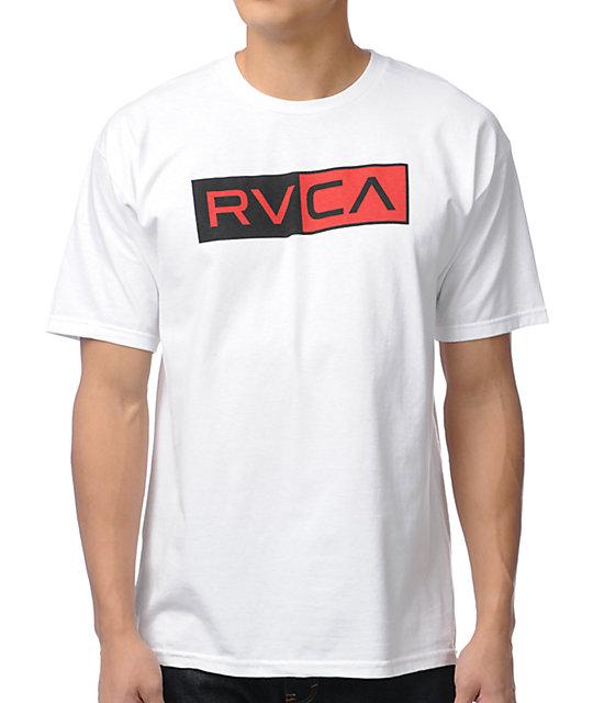 RVCA Division White T-Shirt