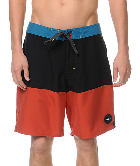 RVCA Flippin 18 Red Board Shorts