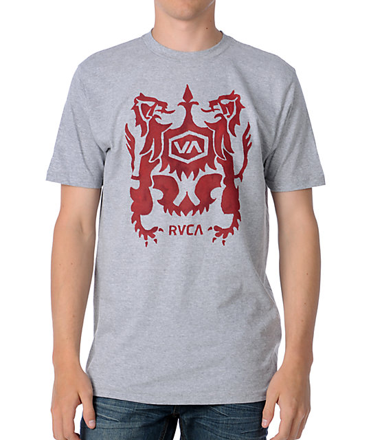 RVCA Flooded Crest T-Shirt