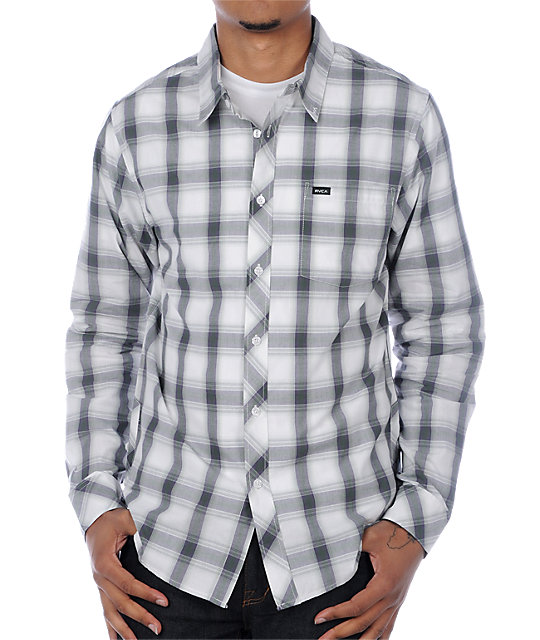 RVCA Iron White Woven Shirt