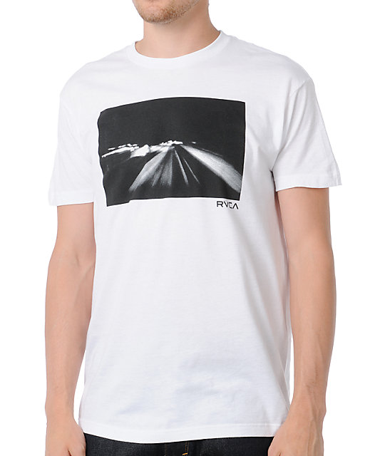 RVCA Life Speed White T-Shirt