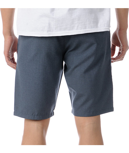RVCA Marrow III Navy Chino Shorts