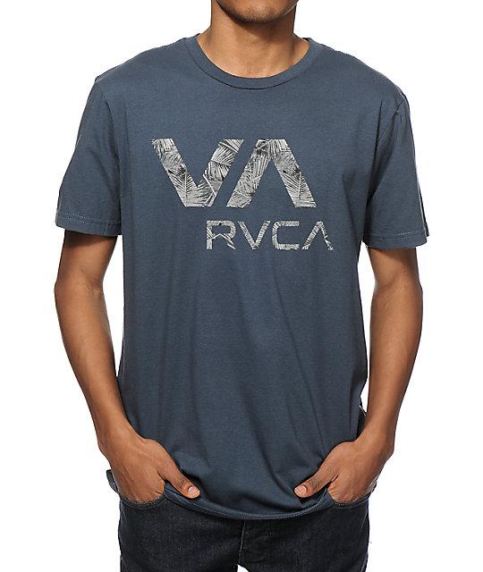 Rvca palmo va t shirt at zumiez pdp for Rvca t shirt dress