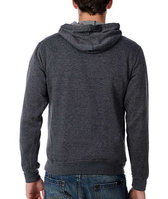 RVCA Railroad Charcoal Pullover Hoodie