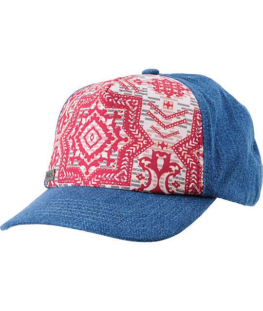 RVCA Rebel Cause Snapback Baseball Hat