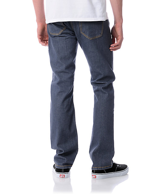 RVCA Romero Blue-Grey  Regular Jeans