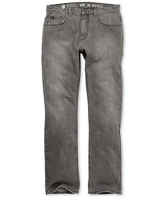 RVCA Romero Grey Wolf  Regular Jeans