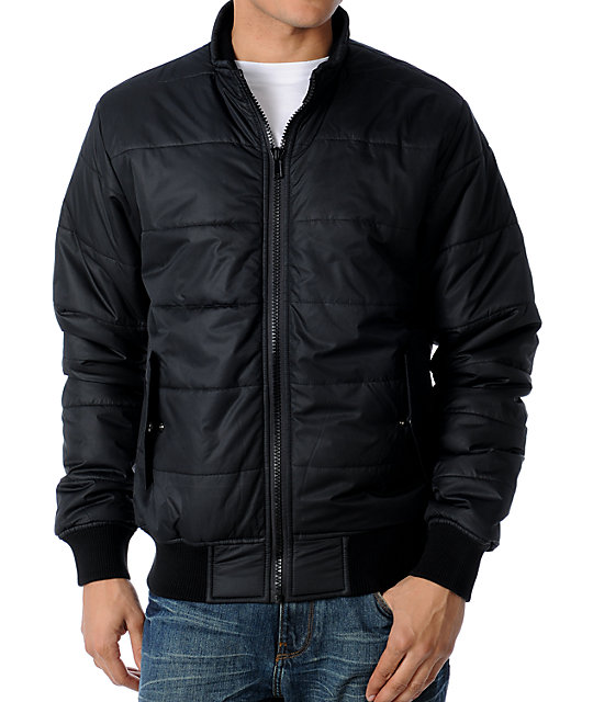 RVCA Rush Push Black Jacket