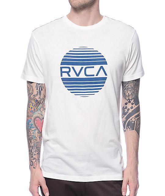 Rvca sanborn white t shirt at zumiez pdp for Rvca t shirt dress