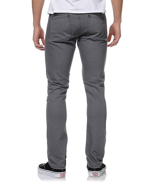 RVCA Spanky Coolmax Grey Slim Fit Denim Jeans