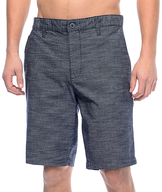 RVCA Twisted 20 Navy Chino Shorts