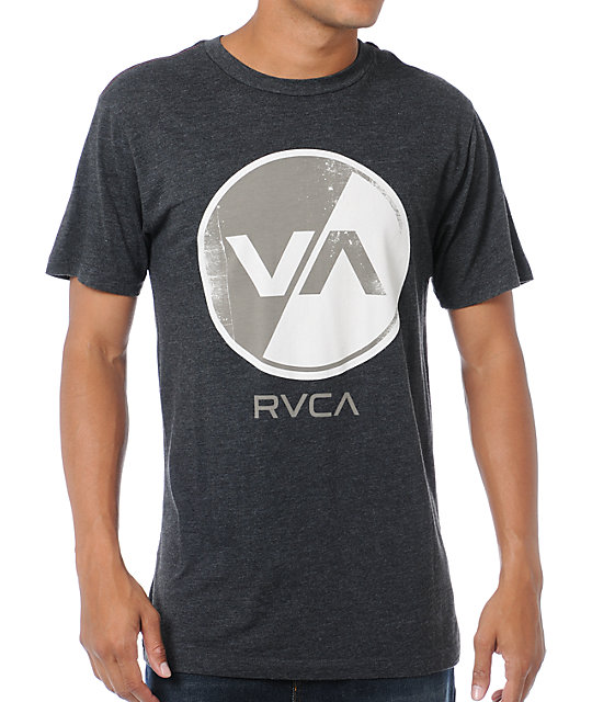 RVCA VA Limited Heather Black T-Shirt