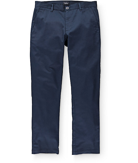 RVCA Weekend Stretch Navy Chino Pants