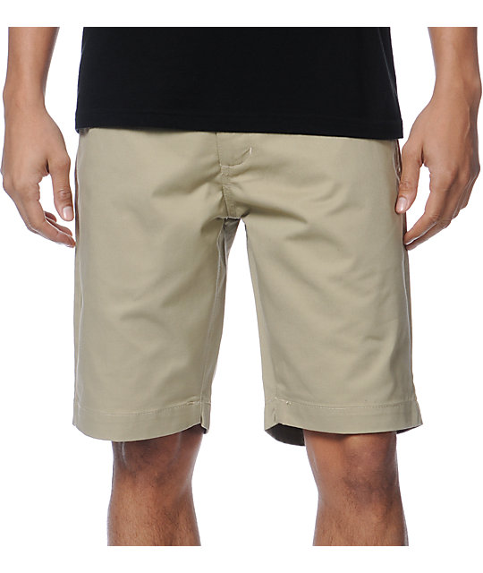 RVCA Weekender Khaki Slim Fit Chino Shorts