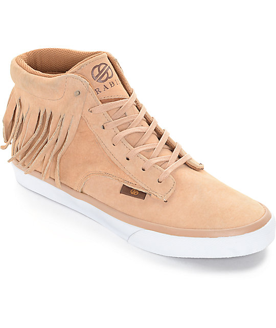 Radii Basic Chestnut Wolverine Suede Skate Shoes
