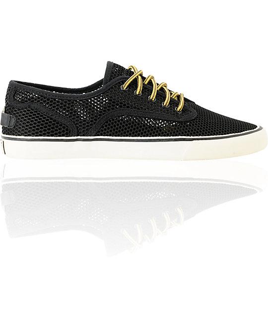 radii shoes axel black mesh shoes