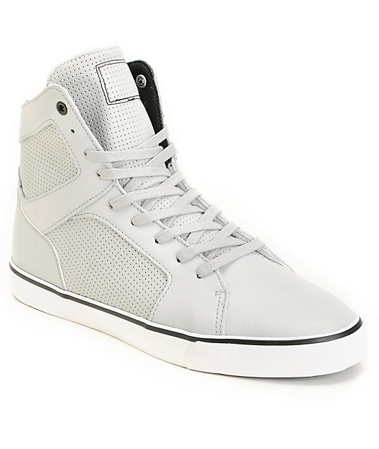 Radii Simple Grey High Top Shoes