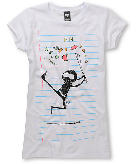 Ralik Chop Suey Scratch N Sniff Notebook Graphic T-Shirt