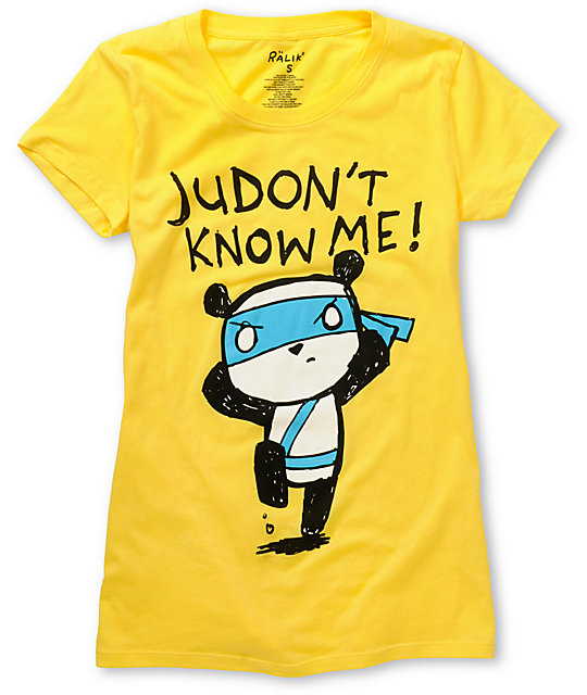 Ralik Judont Know Me Yellow T-Shirt