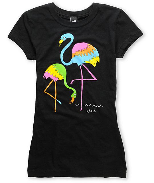 Ralik Paradise Black T-Shirt
