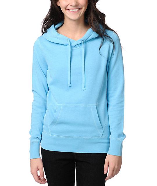 Ralik Spotlight Neon Blue Pullover Hoodie