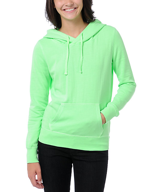 Ralik Spotlight Neon Green Pullover Hoodie