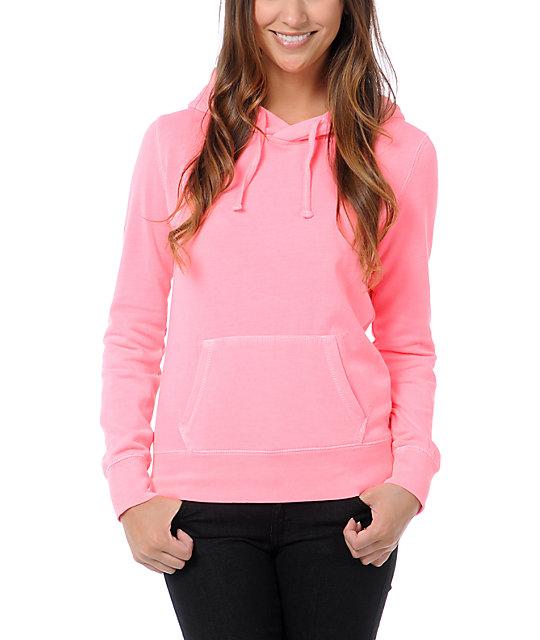 Ralik Spotlight Neon Pink Pullover Hoodie