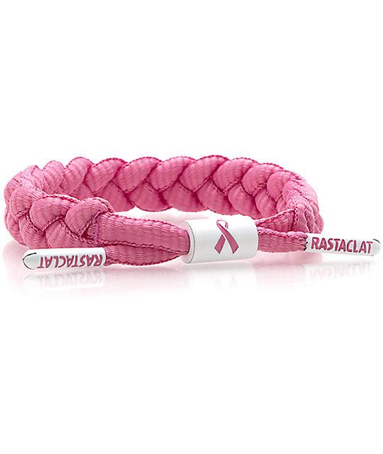 Rastaclat Awareness Classic pulsera rosa